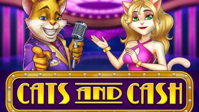Cats and Cash slot by PlayNGo