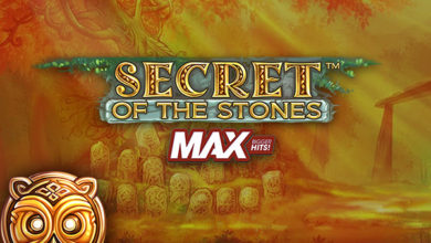 Secret of the Stones Max slot by NetEnt gaming