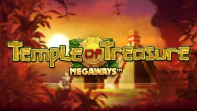 Temple of Treasue slot by Blueprint gaming