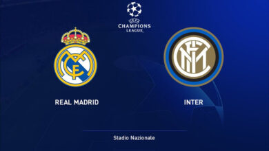 Real Madrid - Inter Milan